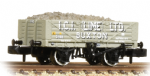 377−031 Graham Farish 5 Plank Wagon Steel Floor 'ICI Lime' with Load